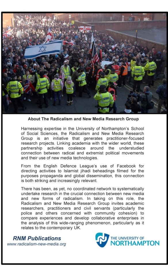 Microsoft Word - The EDL Britain's 'New Far Right' Social Moveme