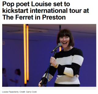 Screenshot_2020-01-03 Pop poet Louise set to kickstart international tour at The Ferret in Preston