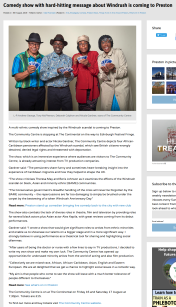 Screenshot_2020-01-13 Comedy show with hard-hitting message about Windrush is coming to Preston