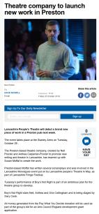 Screenshot_2020-01-13 Theatre company to launch new work in Preston
